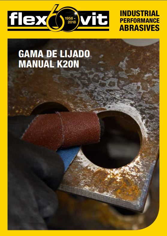 cover gama de lijado manual