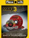 Flexovit Maxx3 Brochure FrontPage