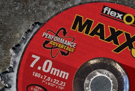 Flexovit Maxx3 grinding wheel