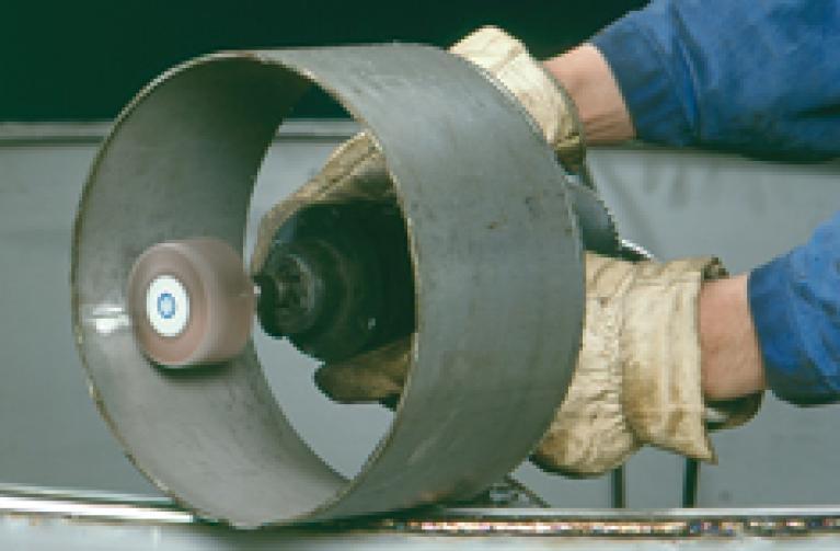 Rodas de lamelas com haste Flexovit