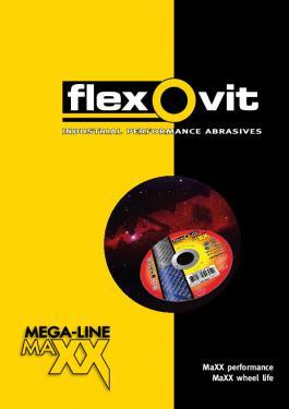 Flexovit Mega-Line MaXX supertunna kapskivor ger snabbaste kapningen