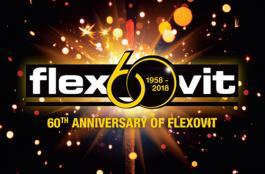Flexovit 60 Anniversary