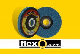 FlexOzoom abrasifs non-tissés: le Flexfinish bleu
