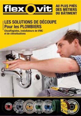 Brochure détaillant nos solutions abrasives pour les plombiers et chauffagistes
