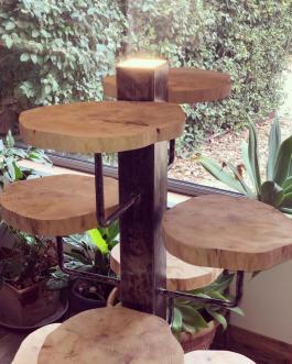 Comment réaliser un joli meuble en métal et en bois d'inspiration industrielle avec les produits Flexovit ?