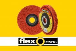 FlexOzoom abrasifs non-tissés: le Flexclean