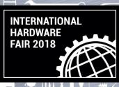 Succé på International Hardware mässan 2018