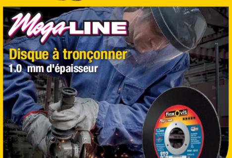Disque Mega Line : un concentré de performance dans 1mm d'épaisseur !