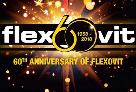 Flexovit 60-jarig jubileum