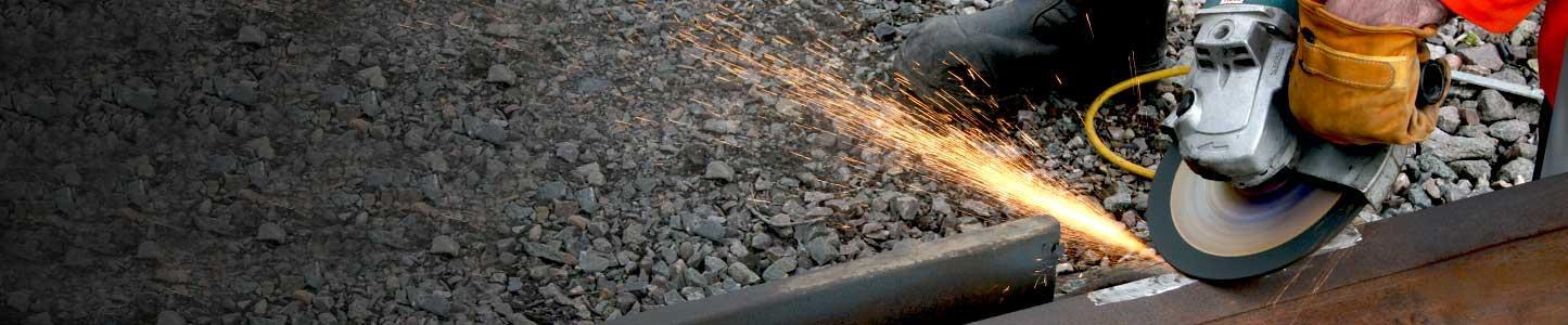 Szlifowanie szyn kolejowych